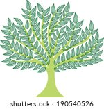 vector tree | Shutterstock .eps vector #190540526
