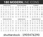 corporate business startup...   Shutterstock . vector #1905476290