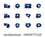 south carolina   flat...   Shutterstock .eps vector #1905477133