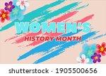 women's history month....   Shutterstock .eps vector #1905500656