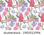 vector floral seamless pattern. ... | Shutterstock .eps vector #1905511996
