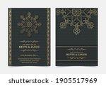 elegant mandala wedding...   Shutterstock .eps vector #1905517969
