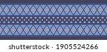 seamless vector border in... | Shutterstock .eps vector #1905524266