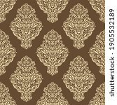 seamless pattern with luxurious ... | Shutterstock .eps vector #1905532189