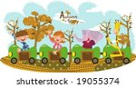 kids story | Shutterstock .eps vector #19055374