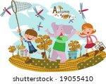 kids story   Shutterstock .eps vector #19055410