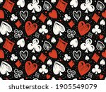 seamless background with suits. ... | Shutterstock .eps vector #1905549079