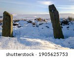 These Two Stone Pillars Are An...