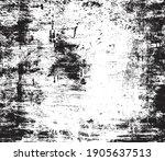 vector grunge black and white...   Shutterstock .eps vector #1905637513