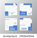 vector layout. set of design...   Shutterstock .eps vector #1905645046