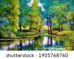 Oil Paintings Landscape  Autumn ...