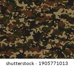 Camouflage Print. Military Tree ...