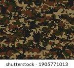 Camouflage Print. Military Tree ...