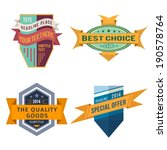 set of various vector design... | Shutterstock .eps vector #190578764