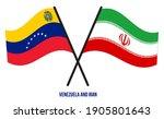 venezuela and iran flags... | Shutterstock .eps vector #1905801643