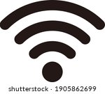 wifi icon for interface design. ... | Shutterstock .eps vector #1905862699