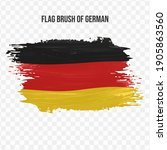 Flag Of Germany In Texture...