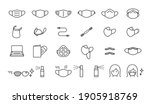 a set of icons for various...   Shutterstock .eps vector #1905918769