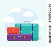 different types of bag. plastic ...   Shutterstock .eps vector #1905932050