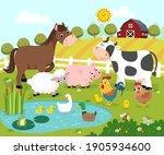 vector illustration cartoon of... | Shutterstock .eps vector #1905934600
