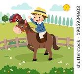 vector illustration cartoon of... | Shutterstock .eps vector #1905934603