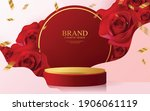 3d background products for... | Shutterstock .eps vector #1906061119