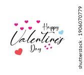 creative valentine day wish...   Shutterstock .eps vector #1906070779