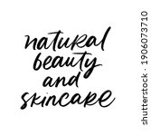 natural beauty and skincare....   Shutterstock .eps vector #1906073710