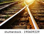 the way forward railway | Shutterstock . vector #190609229