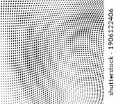 abstract halftone wave dotted... | Shutterstock .eps vector #1906122406
