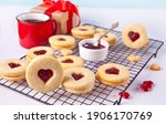 Heart Shaped Traditional Linzer ...