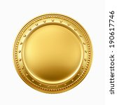 gold coin | Shutterstock . vector #190617746