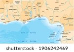 vector map of the gulf of...   Shutterstock .eps vector #1906242469