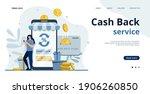 online cashback concept.saving... | Shutterstock .eps vector #1906260850