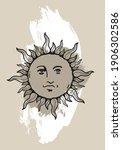 graphical illustration. sun...   Shutterstock . vector #1906302586