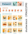 how to recognize and avoid... | Shutterstock .eps vector #1906321990