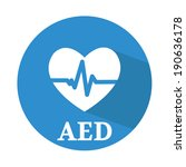 defibrillator icon | Shutterstock .eps vector #190636178