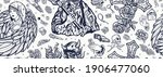 angel and demon seamless... | Shutterstock .eps vector #1906477060