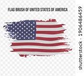 flag of united states of... | Shutterstock .eps vector #1906486459