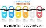 vector circle chart infographic ...   Shutterstock .eps vector #1906489879