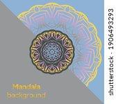 mandalas. decorative round... | Shutterstock .eps vector #1906493293