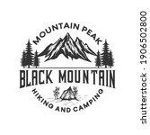 adventure hiking logo... | Shutterstock .eps vector #1906502800