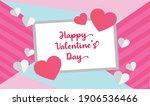 happy valentine's day...   Shutterstock .eps vector #1906536466