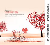 posters and cards for valentine'...   Shutterstock . vector #1906600363