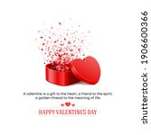 posters and cards for valentine'... | Shutterstock . vector #1906600366