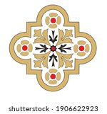 antique decorative symbols in... | Shutterstock .eps vector #1906622923