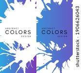 neon artistic horizontal... | Shutterstock .eps vector #1906626043
