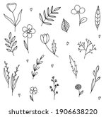Vector Set Of Doodle Hand Drawn ...