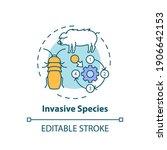Invasive Species Concept Icon....
