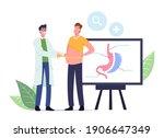 weight loss medicine concept....   Shutterstock .eps vector #1906647349